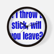 stick2 Wall Clock