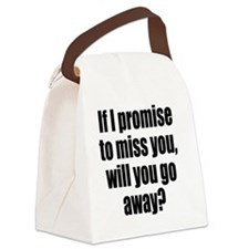 miss_you1 Canvas Lunch Bag