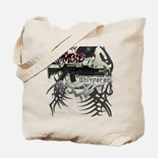 The Zombie Whisperer M16 Killer Dark Tote Bag
