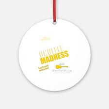 Funny Ukulele uke hawaii Round Ornament