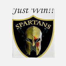 Just Win logo.gif Throw Blanket