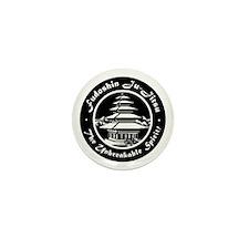 Fudo Shin Club Badge Black n white Web Mini Button
