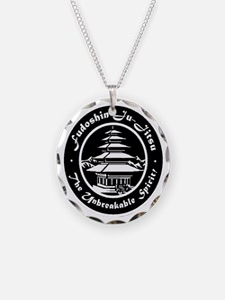 Fudo Shin Club Badge Black n Necklace