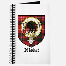 Nisbet Clan Crest Tartan Journal