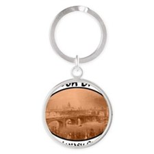 London_Bridge_Lake_Havasu_City_AZ Round Keychain