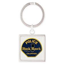 blackhawkpd Square Keychain