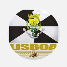 Lisbon (Flag 10) Round Ornament
