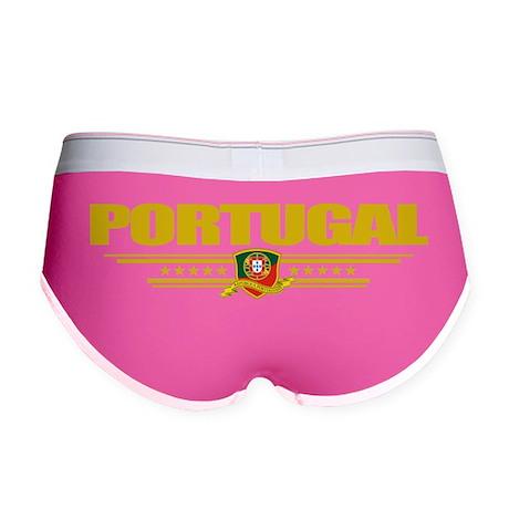 Portugal (Flag 10) pocket Women's Boy Brief