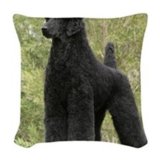 Poodle Standard 9Y181D-031 Woven Throw Pillow
