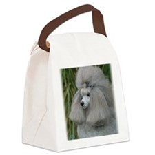 Poodle Toy 9F28D-09 Canvas Lunch Bag