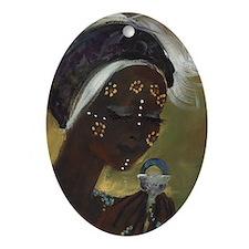oshun Oval Ornament