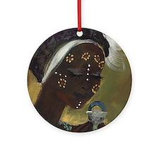 oshun Round Ornament