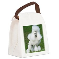 Poodle Miniature 9Y212D-071 Canvas Lunch Bag