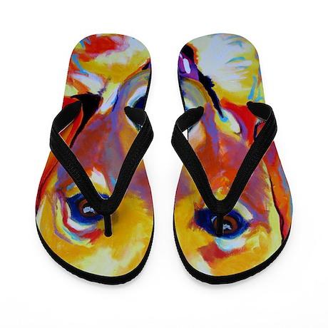 golden - sheamus Flip Flops