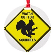 Squirrels_10inch Ornament