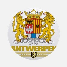 Antwerp COA (Flag 10) Round Ornament
