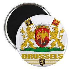Brussels COA (Flag 10) Magnet
