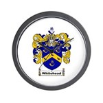 Whitehead Coat of Arms Crest Wall Clock