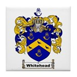 Whitehead Coat of Arms Crest Tile Coaster