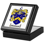 Whitehead Coat of Arms Crest Keepsake Box