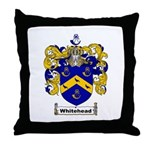 Whitehead Coat of Arms Crest Throw Pillow