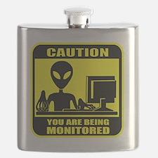 Caution_Alien Flask