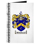 Whitehead Coat of Arms Crest Journal