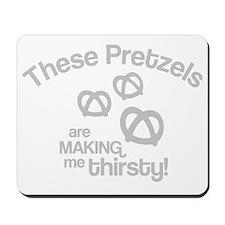 Pretzels 2 Mousepad