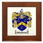Whitehead Coat of Arms Crest Framed Tile