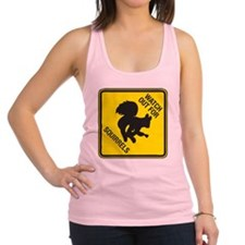 Squirrels_5inch Racerback Tank Top