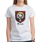 Purves Clan Crest Tartan Women's T-Shirt