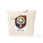 Purves Clan Crest Tartan Tote Bag