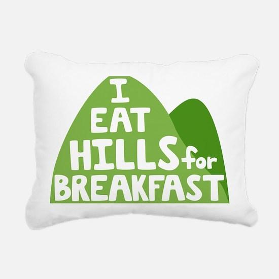 Hills Rectangular Canvas Pillow