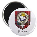 Purves Clan Crest Tartan 2.25