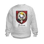 Purves Clan Crest Tartan Kids Sweatshirt