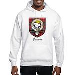 Purves Clan Crest Tartan Hooded Sweatshirt