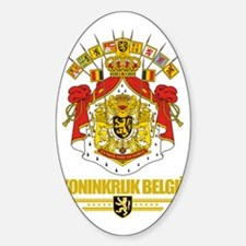 Belgium COA (Flag 10) Decal