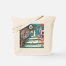 I love cake Framedpanelprintcp  Tote Bag