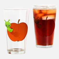 appleworm Drinking Glass