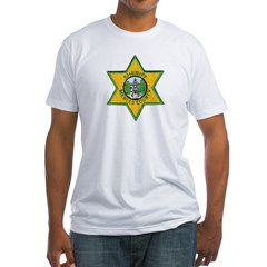Merced County Sheriff Fitted T-Shirt
