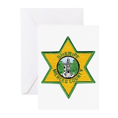 Merced County Sheriff Greeting Cards (Pk of 10