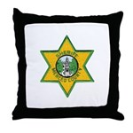 Merced County Sheriff Throw Pillow