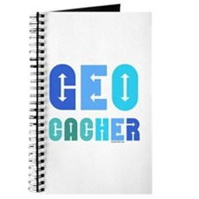 Geocacher Arrows Blue Journal