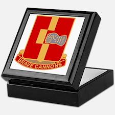 92nd Field Artillery Regiment Militar Keepsake Box