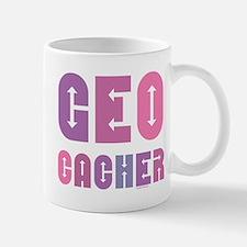 Geocacher Arrows in Pinks Mug