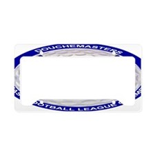 Douchemasters Patch OVAL_edit License Plate Holder