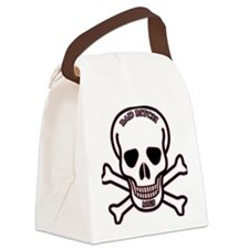 BAD BITCH 1 BLACK AND PINK SAMPLE Canvas Lunch Bag