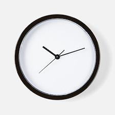 Corgi-University-dark Wall Clock