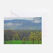 ridge-clouds_edited-3 Greeting Card