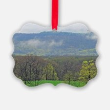 ridge-clouds_smallposter Ornament